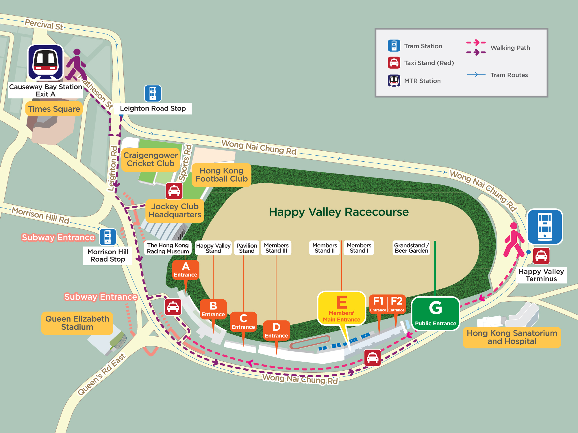 Happy Valley Racecourse Go Racing Racecourses